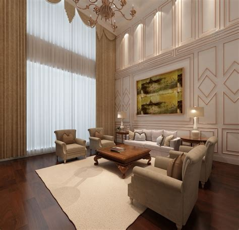 sophisticated european style living room decor