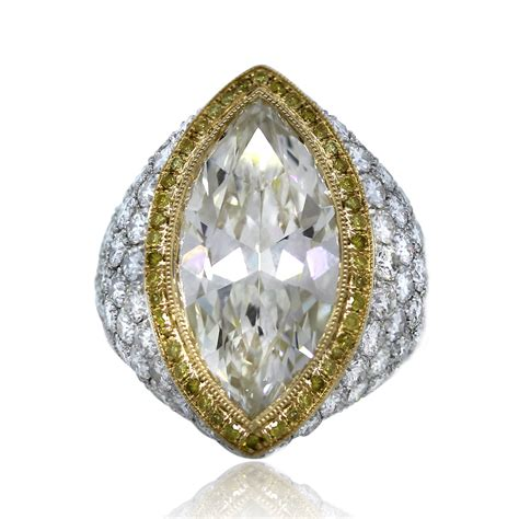 Platinum & 18k Yellow Gold 722 Carat Marquise Cut Pave. Victorian Style Engagement Rings. Sidra Rings. Cut Engagement Rings. January 25th Wedding Rings. Hand Poses Wedding Rings. Rough Emerald Wedding Rings. Celeberity Engagement Rings. Sapphire Wedding Engagement Rings