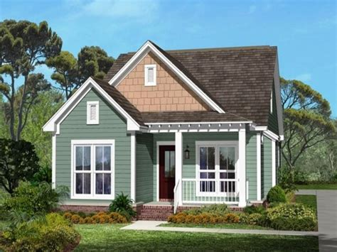 Small One Story Modern Craftsman House Plans