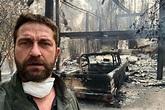 Actor Gerard Butler shares photo of Malibu home destroyed ...