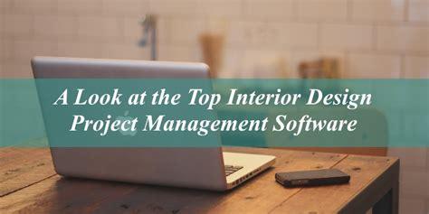 Top Interior Design Project Management Software: Part I