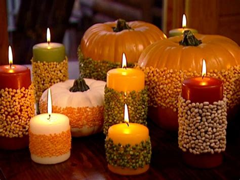 Candles For Home Decor: Festive Fall Tablescape