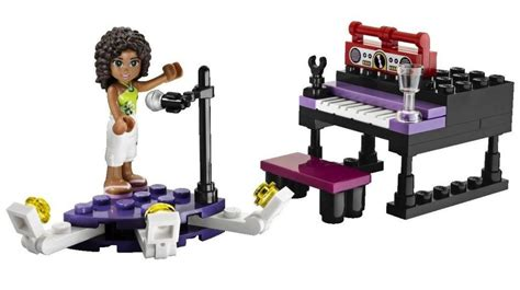 lego friends  andreas stage  brick city