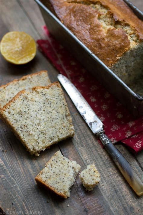 bergamote cuisine cake au citron bergamote et pavot jujube en cuisine