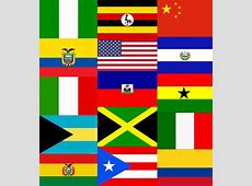 Multicultural Flag Collage of 2014 Clients Petronella