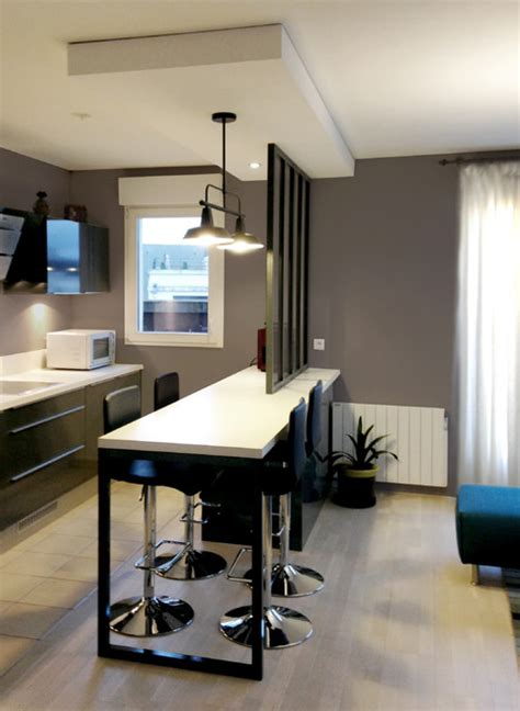 porte meuble sous evier cuisine cuisine ouverte avec verrière industriel cuisine other metro par edeco rénovation