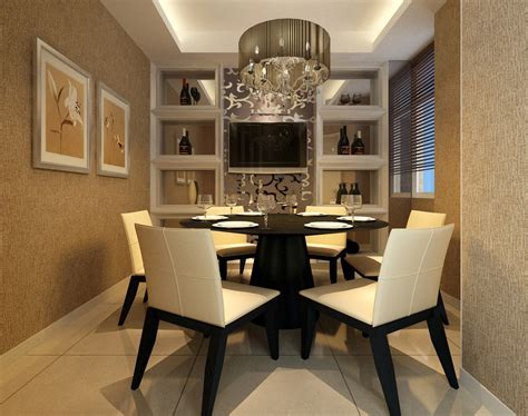 modern dining room tables and chairs 3d house