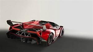 Red Lamborghini Veneno Wallpaper - image #156