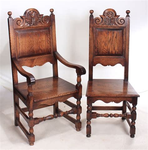 antique oak dining chairs for set of 10 solid oak carved dining chairs 8 2 9030