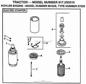 Ayp  Electrolux 917 250510  1999  U0026 Before  Parts Diagram For Kohler Engine