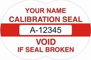 calibration void labelstamper evident labelstamper proof With calibration void labels