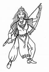 Archer Colorear Kleurplaat Prinzessin Bogen Princesa Arquera Dibujo Coloriage Coloring Malvorlage Queen Dem Colorare Principessa Disegno Archi Degli Colouring Dibujos sketch template