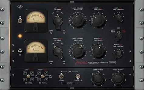 fairchild  compressor plug  universal audio