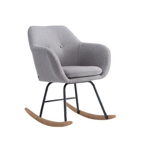 fauteuil à bascule scandinave chaise a bascule scandinave