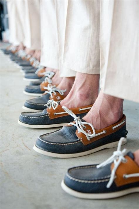 Boat Shoes Wedding by Groomsmen Gifts Groom Groomsmen Sperry S 2056691 Weddbook