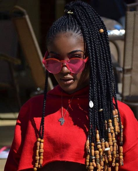 bead styles for hair 60 totally chic and colorful box braids hairstyles to wear
