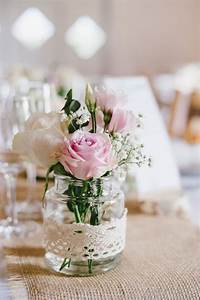 Tischdeko Blumen Tischdekoration Fur Hochzeit Taufe Geburtstag