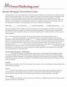 sample mortgage letter fill online printable fillable With loan commitment letter template