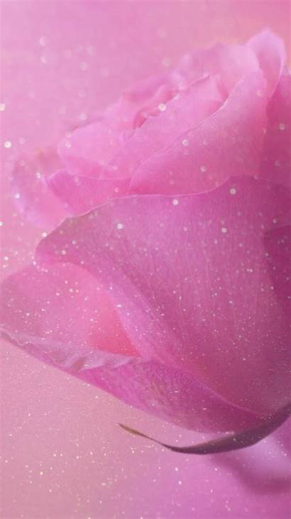 Girly Iphone Pink Glitter Background Pretty Sparkle
