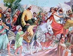 Garden of Praise: Jesus Enters Jerusalem Bible Story