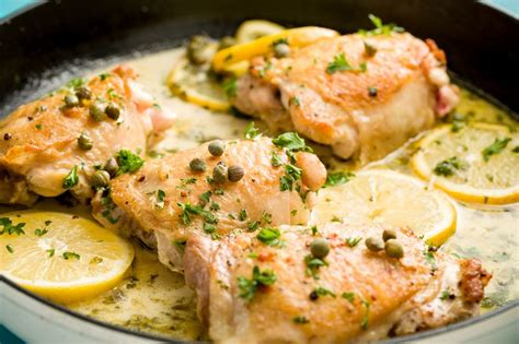 dinner dishes with chicken 56 good af skillet chicken dinners chicken piccata ovens and asparagus