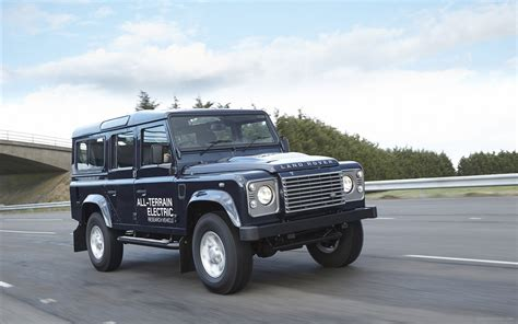 Land Rover Defender Electric Concept 2018 Widescreen