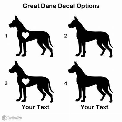 Dane Decal Personalized Wishlist Gifts