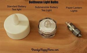 Dollhouse Light Bulbs
