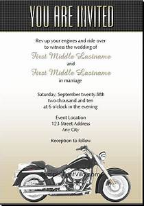 9 best images about biker wedding ideas on pinterest With free printable motorcycle wedding invitations