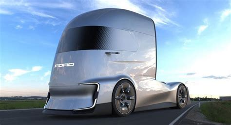 Future Truck Concepts by Ford F Vision Future Truck Concept Is An Electric