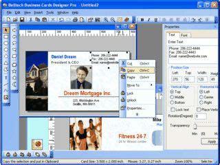 belltech business card designer pro  kostenlos