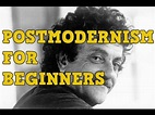 Where to Start With Postmodern Literature - YouTube
