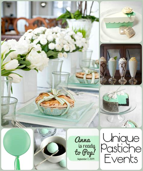 white baby shower ideas mint and white baby shower ideas unique pastiche events