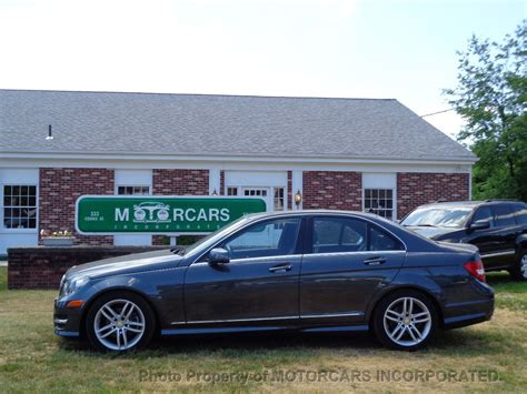 Taxes and fees (title, registration, license, document and transportation fees) are not included. 2013 Used Mercedes-Benz C-Class C 250 4dr Sedan C250 Sport RWD at MOTORCARS INCORPORATED Serving ...