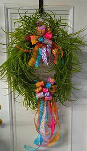 This, Beautiful, Spring, Grass, Wreath, Is, Sure, To, Bring, A