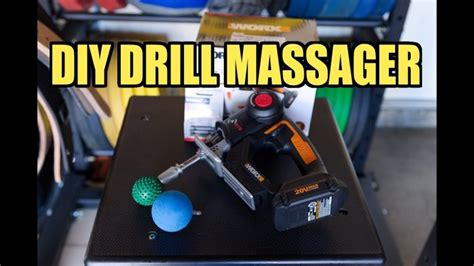"DIY JigSaw ""Drill"" Massager – Percussion Massager 