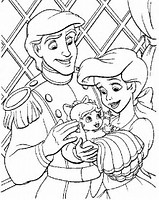 HD Wallpapers Ariel And Melody Coloring Pages