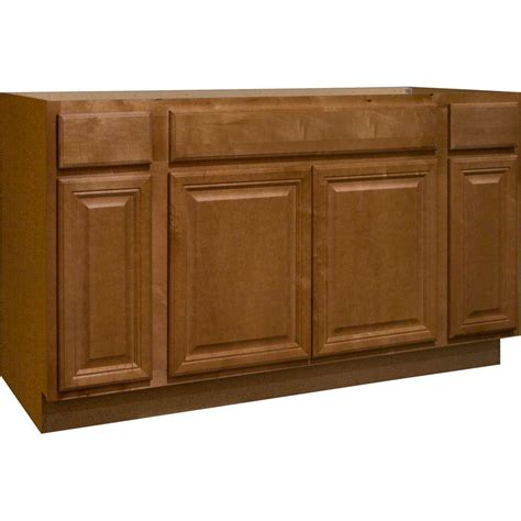 home depot sink cabinet hton bay 60x34 5x24 in cambria sink base cabinet in