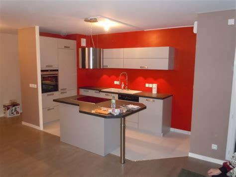cuisine en u ouverte sur salon conseil peinture aménagement salon cuisine ouverte page 3