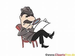 Nutzungsrechte Illustration Berechnen : zeitung lesen mit lupe clipart illustration comic ~ Themetempest.com Abrechnung