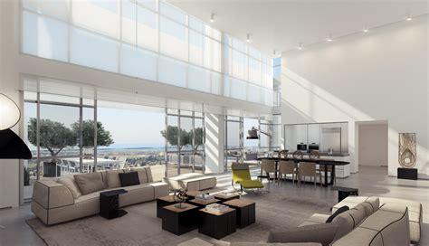 Retractable Glass Doors Living Room Interior Design Ideas