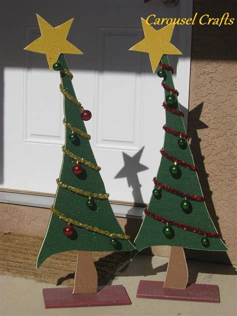 lighted wooden christmas tree pattern woodworking