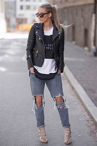 Knee Cut (Ripped) Jeans For Women 2018 | FashionGum.com