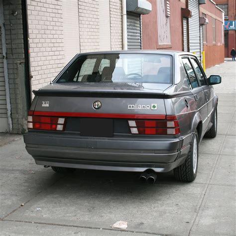 Alfa Romeo 4 Door by 1989 Alfa Romeo Verde Gray 5 Speed 3 Liter 4 Door