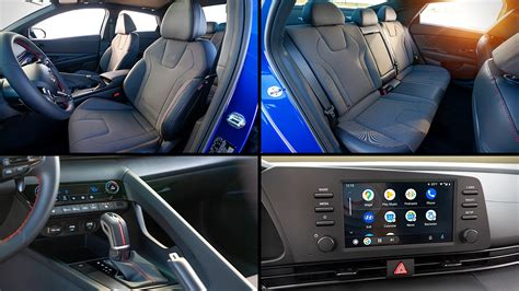So while this is a compact car, its 110.2 cubic feet of interior room qualifies it as a midsize vehicle. 2021 Hyundai Elantra N Line Interior Inside