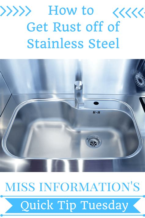 how to remove scratches from brushed stainless steel sink how to get rust out of a stainless steel sink how to