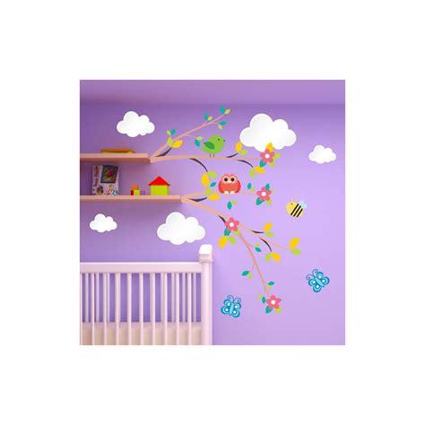 déco chambre bébé stickers stickers chambre bebe nuage chaios com