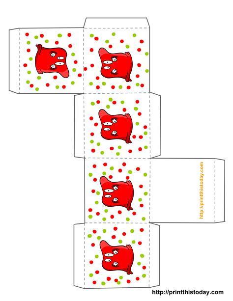 printable halloween treat boxes templates