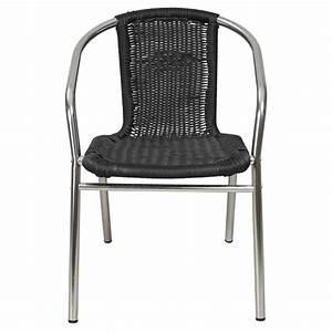 Chaise Terrasse Restaurant : chaise terrasse aluminium mobilier chr mobeventpro ~ Teatrodelosmanantiales.com Idées de Décoration
