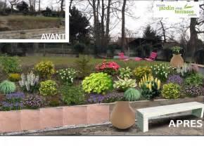Bordure Pour Jardin En Pente by Am 233 Nager Un Talus En Pente 224 L Ombre Monjardin